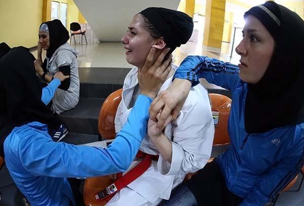 ورزشکاران محروم شده از مسابقات کاتا