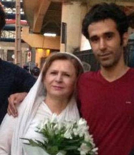 امید علی شناس و مادرش1
