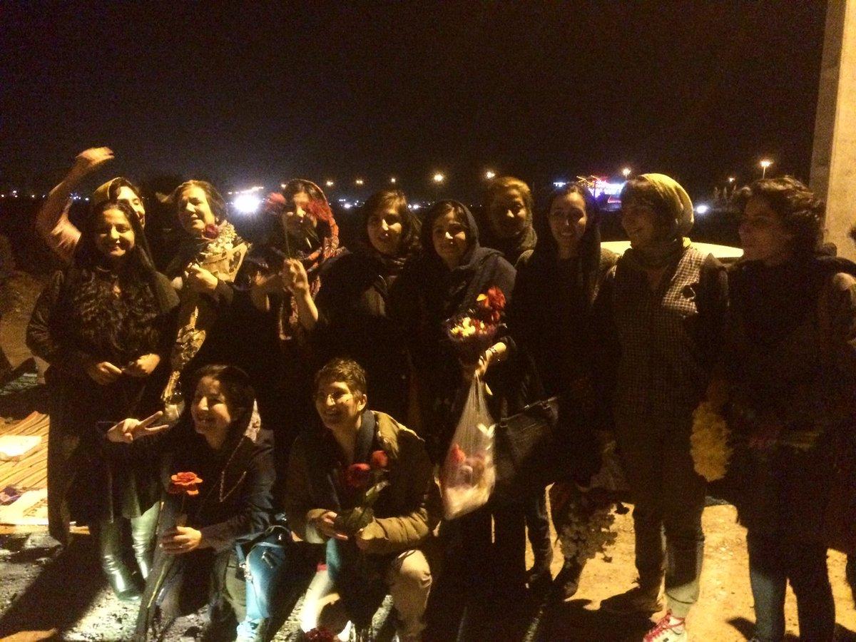 آزادی بازداشت شدگان 8 مارس