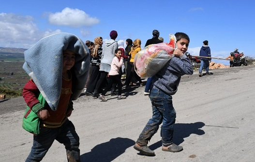 SYRIA-TURKEY-CONFLICT-DISPLACED